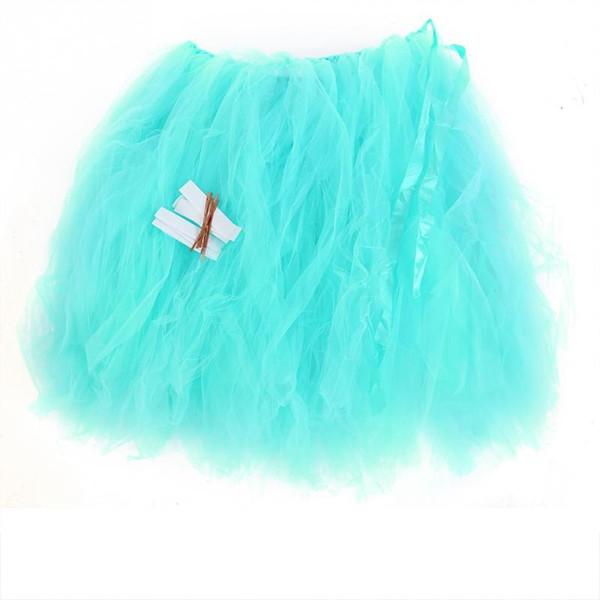 Tulle Tutu Table Skirt Birthday Party Christmas Festival Wedding Decor for Round Rectangle Desk 2018 Christmas