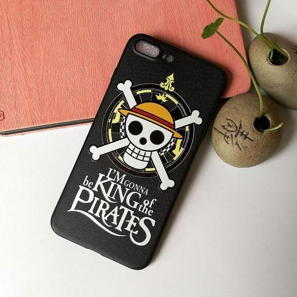 Comic One Piece Luffy Phone Case Soft TPU Back Cover Ace Chopper Zoro Newgate Trafalgar Law Sabo for iphone