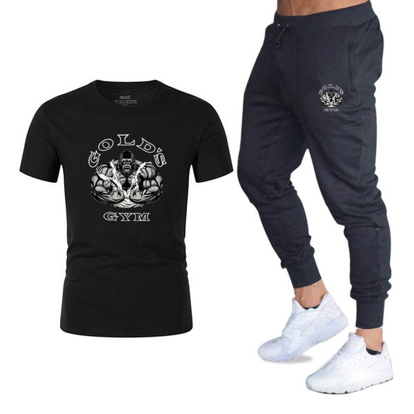 competitive price price reduced cheap sale 2019 Hot Sale Men'S Sets Summer T Shirts+Pants Two Pieces Sets Casual  Tracksuit Male 2019 Casual Tshirt Gyms Fitness Trousers Men From Jigsaw,  $34.92 ...