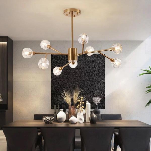 Glass Pendant Light Kitchen Lamp Bedroom Ceiling Lights Home Chandelier Lighting