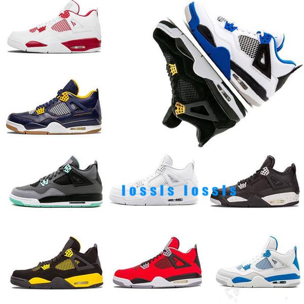 2019 Nuove scarpe da basket oreo militare blu gatto nero Toro Bravo puro denaro GS Motorsport mens scarpa sportiva Sneaker taglia us 8-13