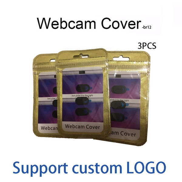 top popular 2020 Webcam cover for phone,Tablet pc,Laptop External Webcams Devices Protect your privacy 3in1 with packing 2021