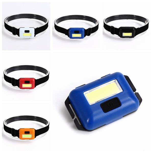 Mini 4 Modes étanche COB LED lampe de poche à l'extérieur phare phare lampe de poche lanterne d'urgence pour les activités de plein air LJJZ446