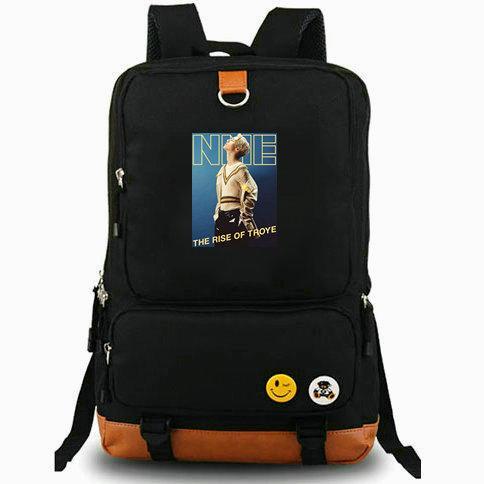 Troye Sivan rucksack Talk me down daypack Music computer schoolbag Leisure day pack Sport school bag Outdoor backpack