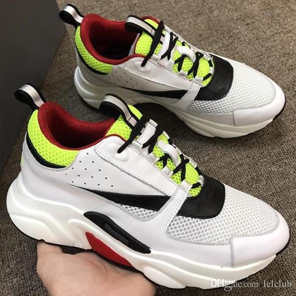 B22 Sneaker Technique Tricot Sneakers Sneakers Hommes Designer Chaussures De Mode De Mode Femmes Baskets Occasionnels Bas Top Couple Chaussures B23 B24 HZD33