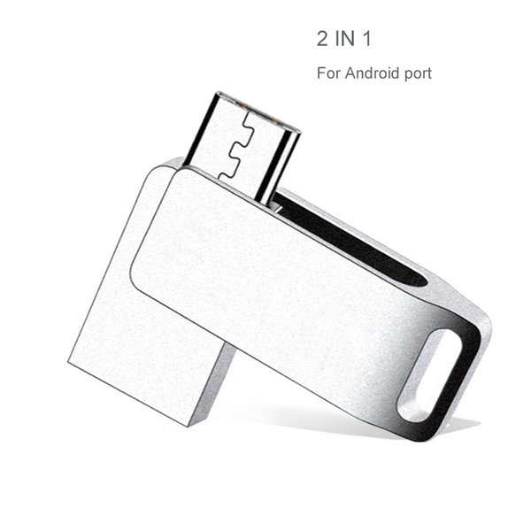 Mini USB Flash Cute OTG USB Flash 64GB 8GB 16GB Pendrive 32GB U Stick For Android Real Capacity Pen Drives For Xiaomi Samsung