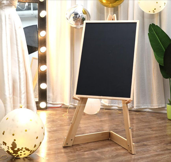 best selling KT board display stand advertising stand wooden stand vertical floor type poster stands folding shopping mall billboard display board