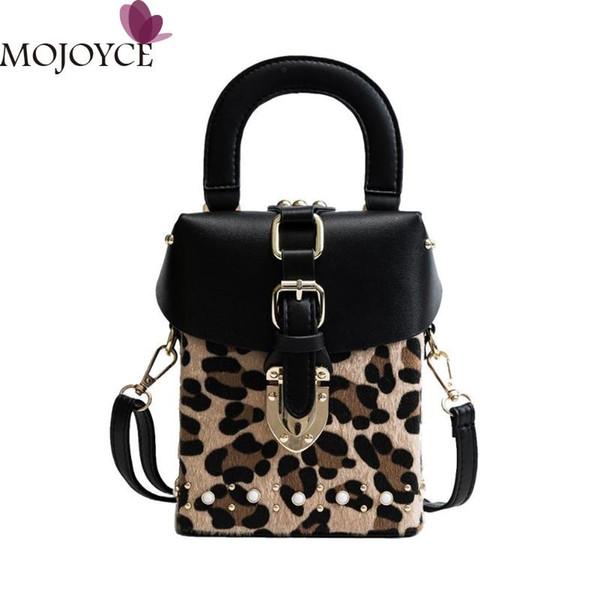 Famous Brand Personalized Handbags Leopard Print Box Mini Cube Brand