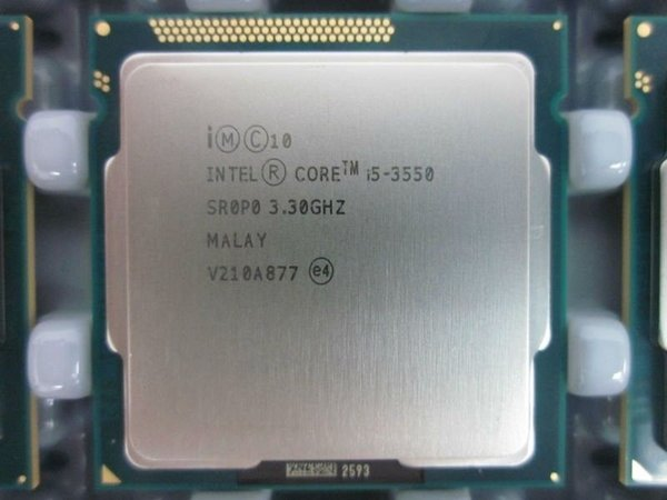Intel Core i5 3550 3.3GHz 6MB 5GTs SR0P0 Socket H2 LGA1155 i3-3550 Desktop CPU Processor