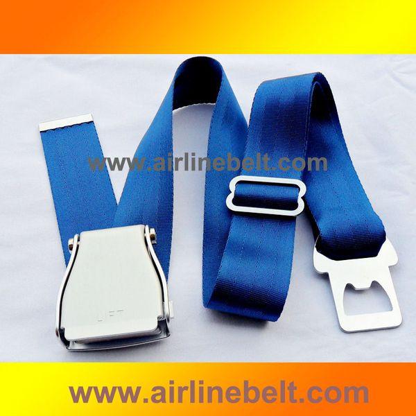 оригинальная пряжка авиакомпания сиденье мужчину женщины ремень / пояс с торцевыми съемной плоскостью пряжка металла слайдера штуками многофункциональной подарочной