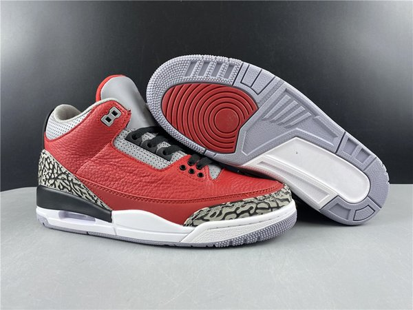 fire red/fire red-cement grey-black