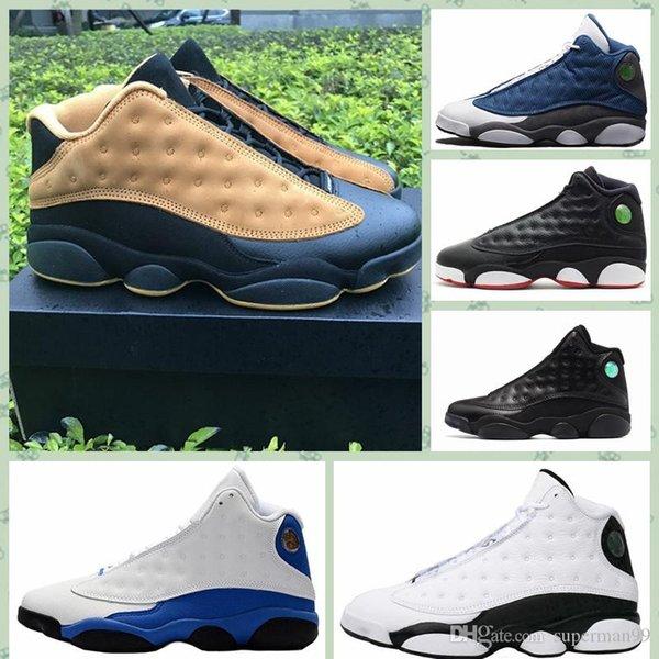 J013HA Sıcak yeni Ucuz 13 Basketbol Ayakkabıları erkek Kadın Açık Sneakers Kırmızı çin s 13 s XIII Düşük Spor siyah gri teal ayakkabı size40-47