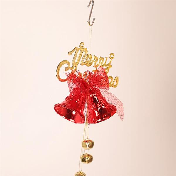 Cloche, Noël, Arbre de Noël Pendentif Artisanat Arbre de Noël Décor Cadeaux Ornements Partie à la maison Ornements
