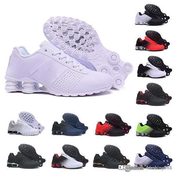 2019 Shox Liefern 809 Männer Air Running Schuhe Drop Shipping Großhandel Berühmte DELIVER OZ NZ Herren Sportschuhe Sport Laufschuhe 40-46
