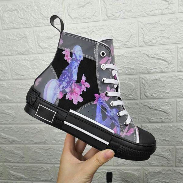 2019 Lüks Tasarımcı Rahat Ayakkabılar Kadın Sneakers Moda Düşük Üst Bağcık-Up Düz Ayakkabı 35-45 xr041301