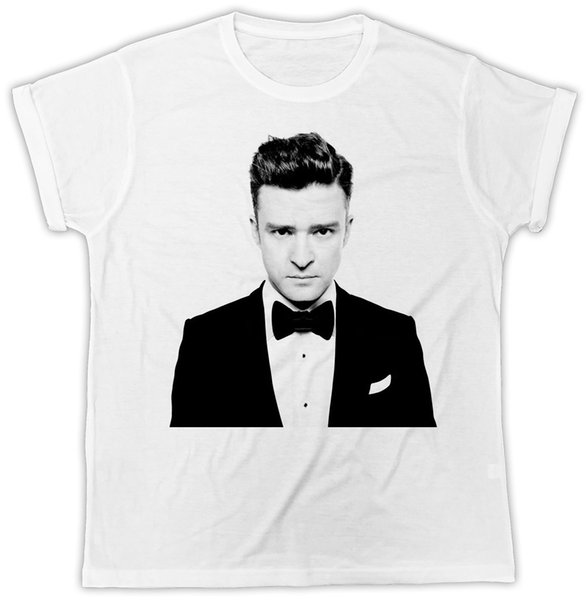 JUSTIN TIMBERLAKE IDEAL GIFT PRESENT COOL SHORT SLEEVE UNISEX T SHIRT colour jersey Print t shirt