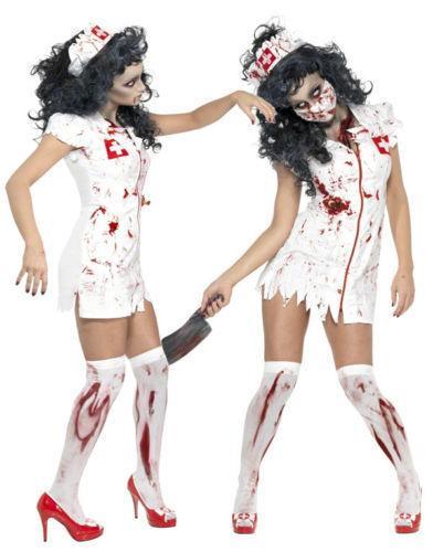 2017 Vampir Hizmet Hemşire Kostüm Cadılar Bayramı Kostüm ile Kan Şeytan Sahne Cosplay Cosplay Set Vampir Hemşire Üniforma