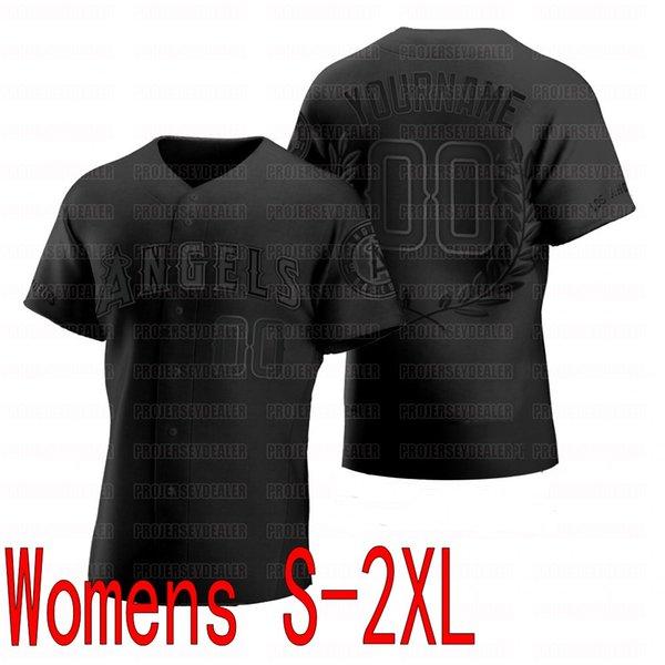 Черный женский S-2XL