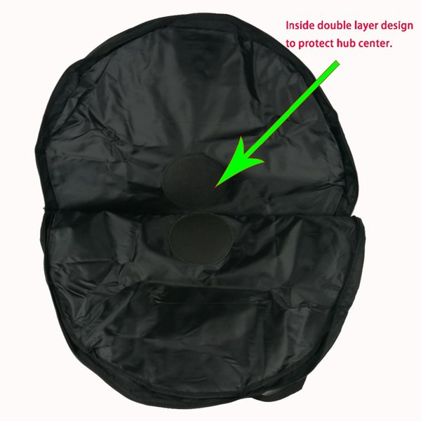 Double wheels bag for carbon road bike /mountain bike wheels or rims MTB bicycle wheelset bags cheap price 2 bag for sale