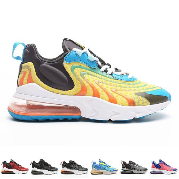 2019 Erkek 270S Erkek Eğitmenler Bayan Spor Ayakkabı için Sneakers tepki Kadın Koşu Ayakkabısı Erkek Spor Kadınlar Casual Erkek Sneaker Kadın Trainer