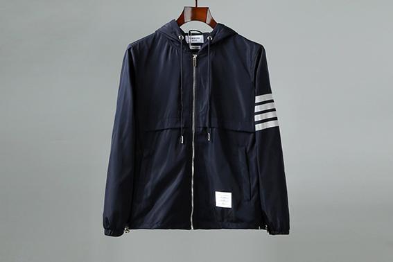 Venda quente Thomss Brownexx jaqueta de luxo Designer Mens marca de alta qualidade jaqueta de moda de luxo impresso casaco jaqueta de rua Casual tamanho M - XXXL
