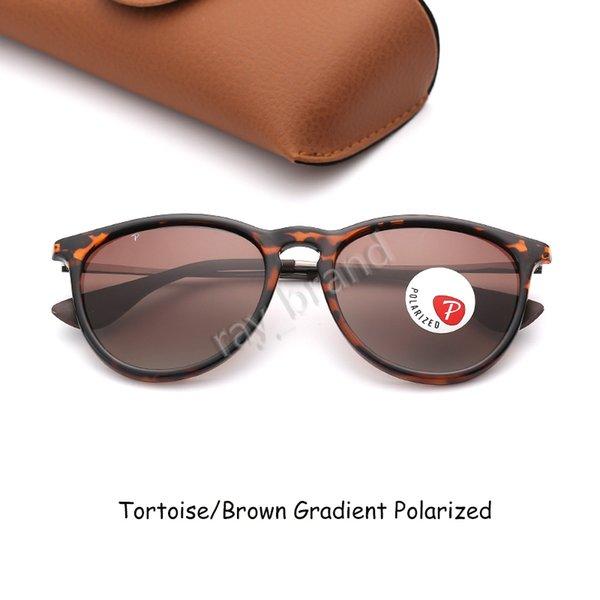 Черепаха-коричневый градиент поляризованный