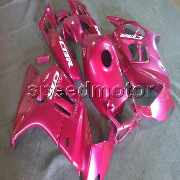23 cores + Parafusos cor de rosa da motocicleta Carenagem para HONDA CBR 600F3 97 98 CBR600 F3 1997 1998 ABS Carenagem Do Motor