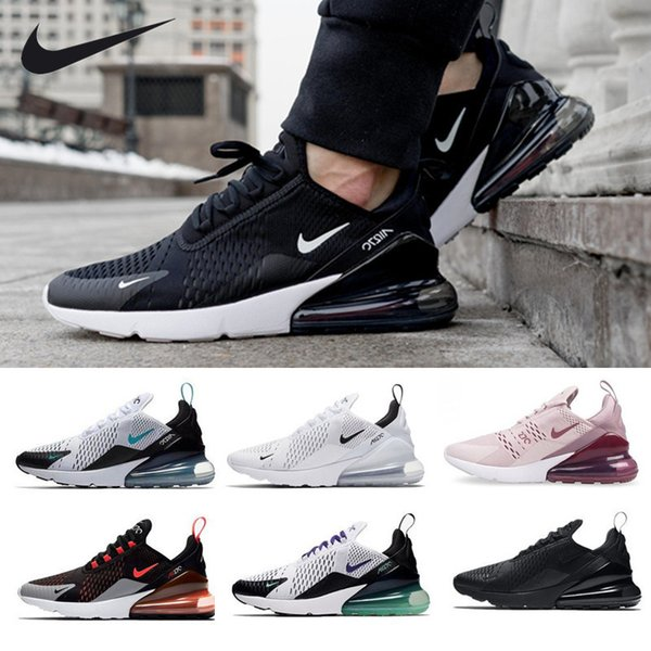 best selling 2019 New Arrival 270 KPU Men Running Shoes Plastic Training Outdoor Sports air sole 270s Womens Trainers Zapatos maxes Sneakers Size 36-45