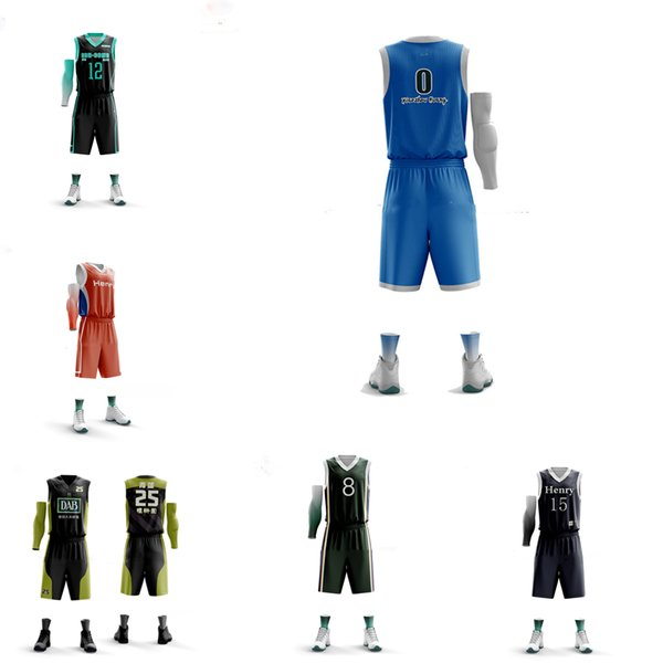 customized Best slim fit jersey Newest sublimation design basketball uniform