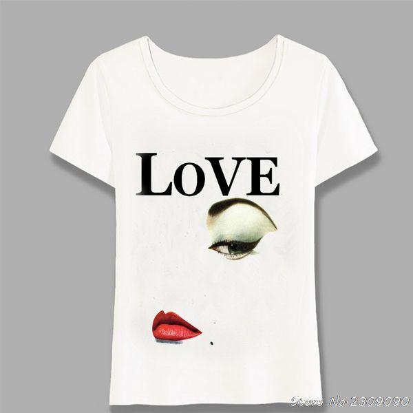 New Cool Summer Fashion women's T-shirt Cute Love Sheeps Design Pink Print Short Sleeve Tops Hipster Lady Tees Harajuku