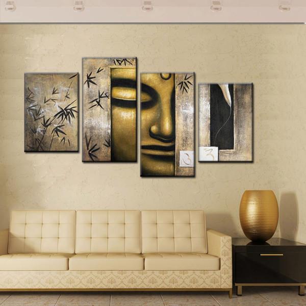 Grosshandel Handgemachte Grosse Moderne Abstrakte Bronze Buddhismus