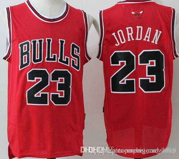 differently 6264d 38020 2019 23 Michael Chicago Bull Jersey Retro Mesh Black Red White Green  Embroidery Basketball Jerseys Cheap Wholesale From Big_red_shop, $23.52    ...