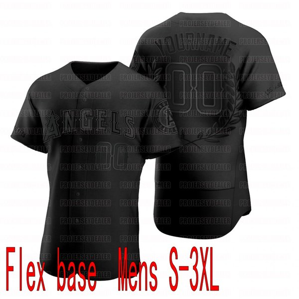 Черный Flex база Mens S-3XL