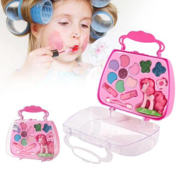 Compre Maquillaje Juguete Juego De Maquillaje Para Niños Juego De Maquillaje De Seguridad Kit De Maquillaje No Tóxico Juguete Para Niñas Vestirse