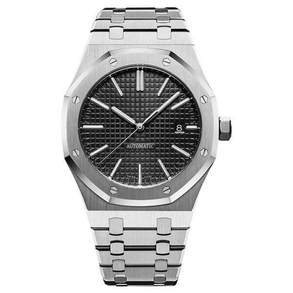 orologio di lusso 42mm cinturino completo in acciaio inossidabile automatico orologio d'oro luminoso orologio da polso di alta qualità zaffiro orologio di lusso 5ATM impermeabile