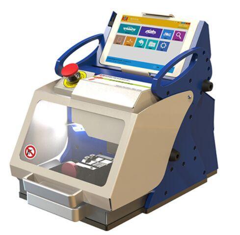 Tagliatrice chiave dell'automobile completamente automatica di Kukai E9z per sia chiavi standard che chiavi del laser la versione inglese 2019 nuovi attrezzi del fabbro
