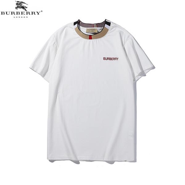 19SS Bur Designer T Shirt Sport Tide T Shirt Letter Embroidery Women Clothes Designer Cotton Famous T Shirt