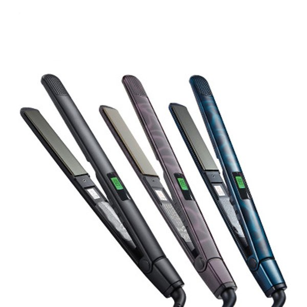 Electric Splint Hairstyle Tool Straight Curly Hair Dual Use Buckle Ceramic Straight Hair Curler Combo Hair Straightener
