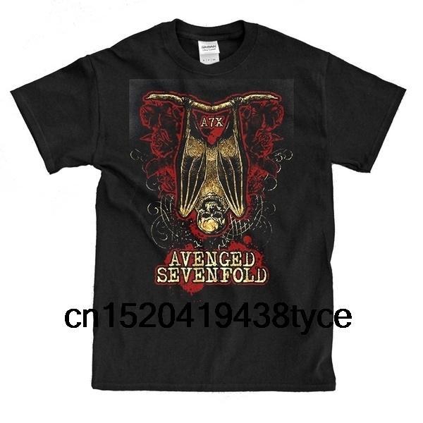 Sevenfold Bat Shirt Новая футболка с коротким рукавом с принтом