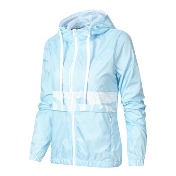 Women Sports Luxury Jackets Windbreaker Thin Slim Hooded Zipper Jacket Vestidoes