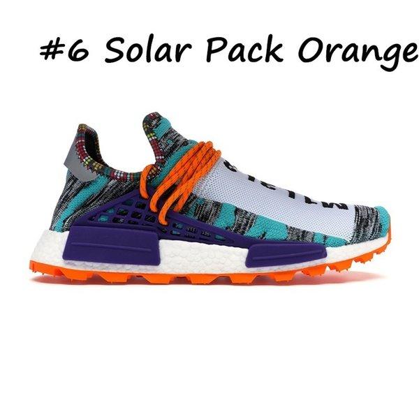 6 Solar Pack Orange