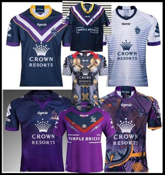 best selling 2019 2020 melbourne storm 2019 home away rugby Jersey National Rugby League shirt jersey 18 19 MELBOURNE STORM shirts s-3xl
