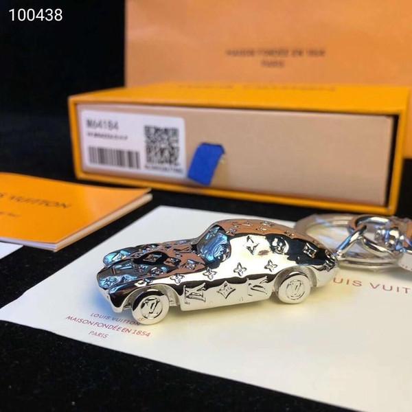 Accessoires de mode Designer Style de voiture Sacs et clés Accessoires pour clés de voiture Accessoires pour couple Matériau en alliage presbyte Emballage d'origine