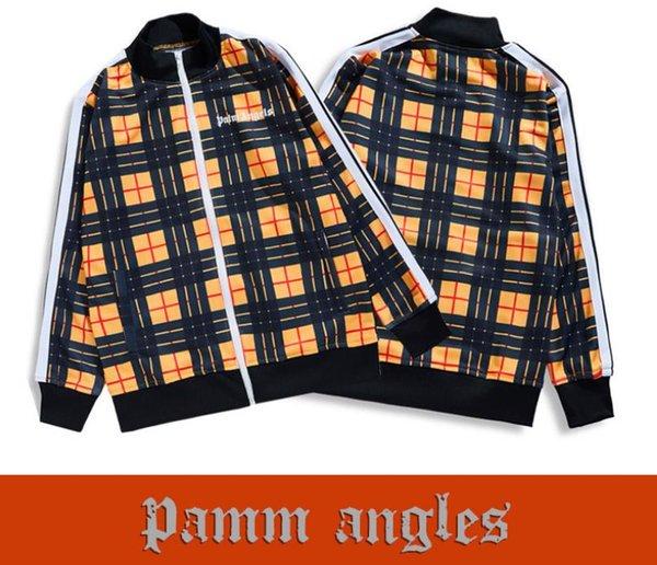 Дизайнерские Куртки для Мужского Пальто Повседневная Стенд Воротник Плед Куртка Мода Топы Мужская Одежда Модные Мужские Толстовки для Уличной Одежды