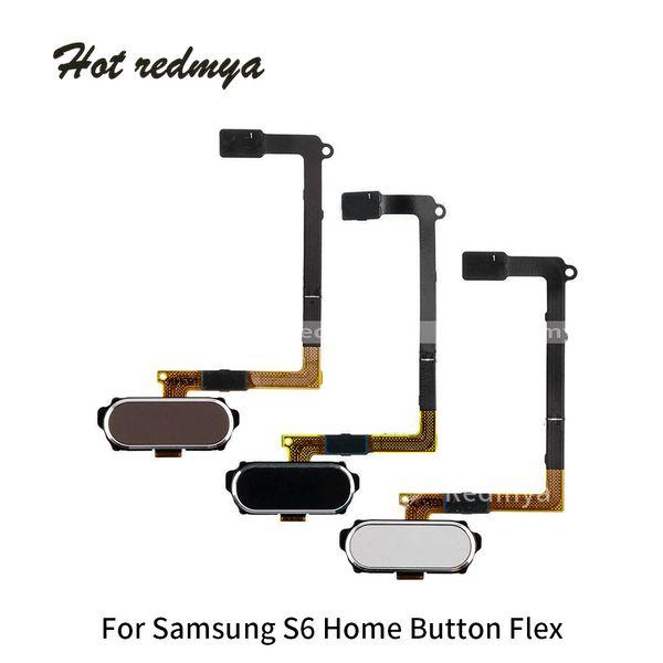 Home Button Flex Cable For Samsung Galaxy S6 G920 S6 Edge G925 S6 Edge Plus Fingerprint Touch Flex Replacement Mobile Phone Parts