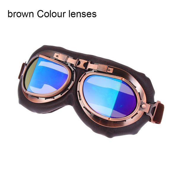 B Colour lenses
