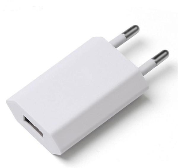 En iyi Kalite 5 W 5 V 1A ABD, AB Tak USB AC Güç Adaptörü Şarj Duvar Adaptörü Perakende Kutusu Ile A1385 A1400