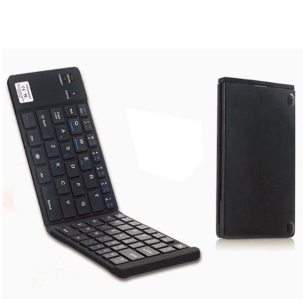Mini teclado plegable de Bluetooth del teclado ultrafino inalámbrico recargable para el teléfono inteligente iOS Tablet PC