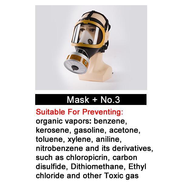 Masque n ° 3 avec