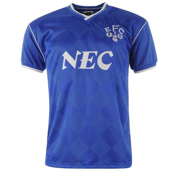 Everton 86-87 Accueil